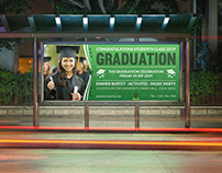 Graduation Billboard Template
