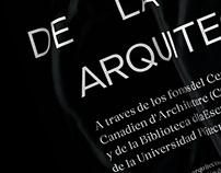 Atlas de teoría(s) de la arquitectura.