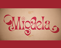 MIGAELA REGULAR - FREE CHRISTMAS FONT