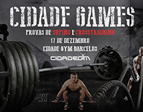 CIDADE GYM - Advertising Posters
