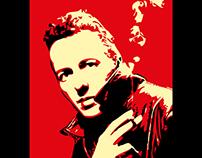 Joe Strummer Rock 'n Roll Icon