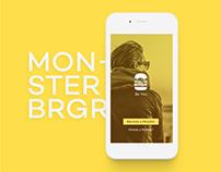 Monster Burger Branding