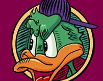 Duck Mascot Vector. It's for fun