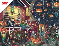 SKy TV - Halloween