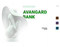 BANK AVANGARD REDESIGN