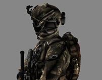 GRUMEC special forces - 3DsMAX modeling.