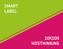 Smart Label, Hosthinking, 10x100 | Branding