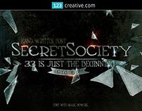 Secret Society Font Family - handmade handwritten font