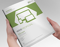 WEB Proposal Brochure Template