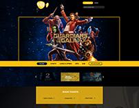 Pathé Film Company Website Redesign