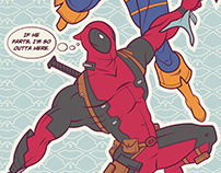 Dead Things: Deathstroke vs Deadpool