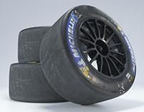Michelin Slick Tire   Full CGI