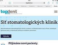 Topdent: web a vizuální styl pro dentální kliniku