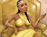 Rise Reign Repeat. Queen Sena.