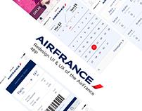 Air France - app redesign