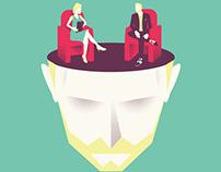Illustrations for a psychologist