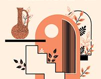 Set of Gig Posters for José González's 2019 Tour