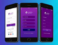 Mobile App Sign Up Screens