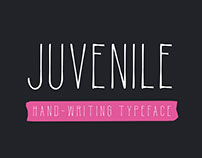 Juvenile Hand-drawn Typeface