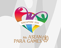 Design Collateral for 8th ASEAN Para Games 2015