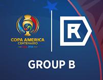 Fantasy Kits - Copa America Centenario 2016 - Group B