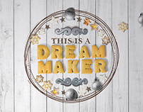 Various POS materials for Dream Maker - invitation shop