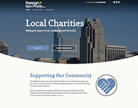 Raleigh Non-Profits Website & Logo
