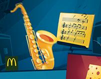 Triple Cheeseburger Animation for McDonald's