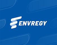 [Brand Design] Envregy logo and brand identity design