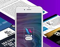 VzlaMag Mobile Design