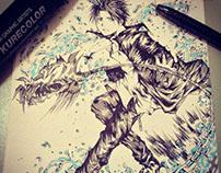 2014 The Grim Reaper Ink Art