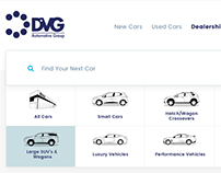 12 hand -drawn car icons for DVG Automotive Group