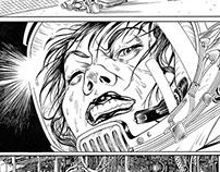'Metal Skin', comics edit in Vertcomics