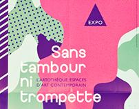 Exposition espace d'art contemporain - Art exhibition
