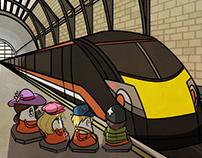 Cones 3 - Cones On The Rails