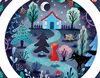 Red riding hood - kid's tableware