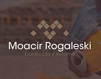 Logo - Moacir Rogaleski Construção e Reforma