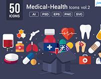 Medical / Health Vector Icons V2