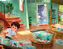 My home used to be the Betta fish farm !