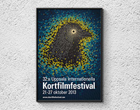 Poster/trailer Uppsala Int. Short Film Festival 2013