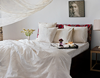 // Bed Stories / Set Design / Styling : Good Earth Ind