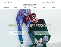 "Online store ""Impression"""