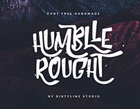 Free* Humblle Rought Font