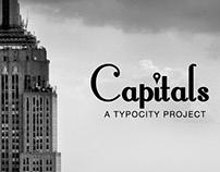 Capitals // New York font