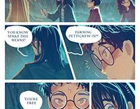 Harry Potter-Fan Comic
