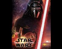 """Star Wars """"The Force Awakens"""" fan poster"""