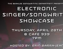 Berklee Electronic SS showcase poster