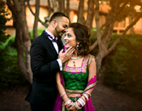 Retouching of wedding photos