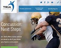 Website Content & SEO | Tria Orthopaedic