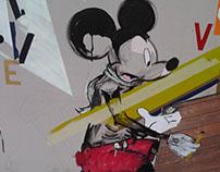 tetraptych subconscious,Disneyland,2022.